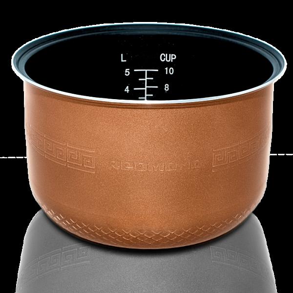 Чаша (кастрюля) антипригарная с тефлоновым покрытием Du Pont Redmond RB-A501 (RIP-A2)