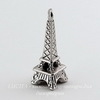 "Подвеска ""Эйфелева башня"" 3D 23х11 мм (цвет - античное серебро)"