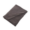 Плед 130х180 Hanim от Hamam темно-серый