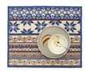 Элитная салфетка шенилловая Baltic Blue 207 rauchblau от Feiler