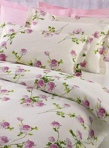Постельное белье 2 спальное евро макси Mirabello Scented Rose бежевое