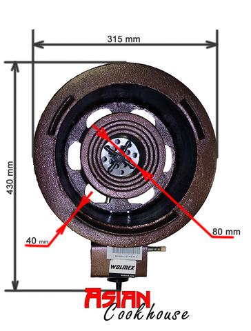 Газовая горелка для WOK ВОК Wolmex CGS-25C1