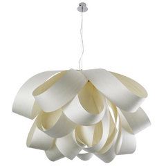 люстра Agatha Suspension Light ( 60 см белая )