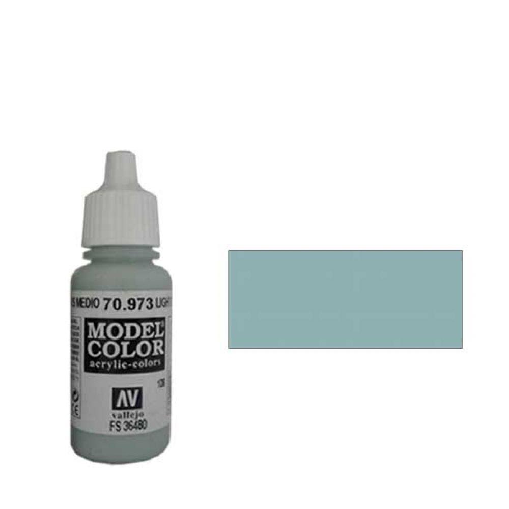 108. Краска Model Color Серо-Морской Светлый 973 (Light Sea Grey) укрывистый, 17мл