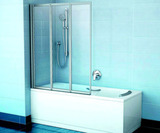 Шторка на ванну Ravak VS3-115 стекло
