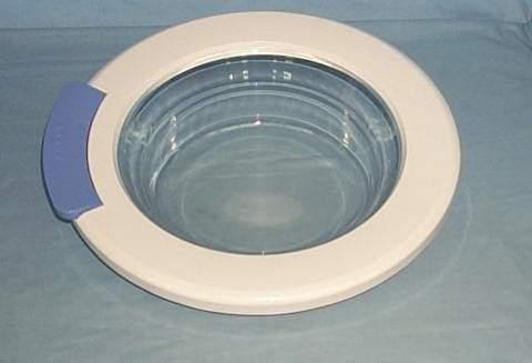 Люк в сборе (стекло люка в сборе с обрамлением) для стиральной машины Beko (Беко) 2811300100