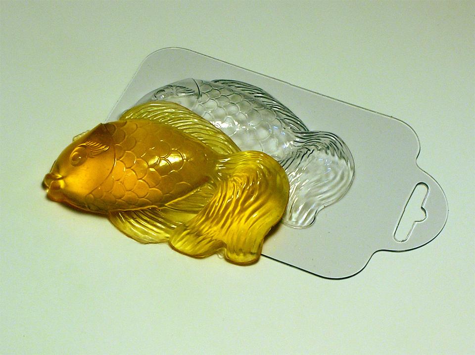 Волшебная рыбка Форма для мыла