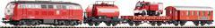 PIKO 57153 Стартовый набор моделей железных дорог  «Пожарный поезд», Ер. IV, НО