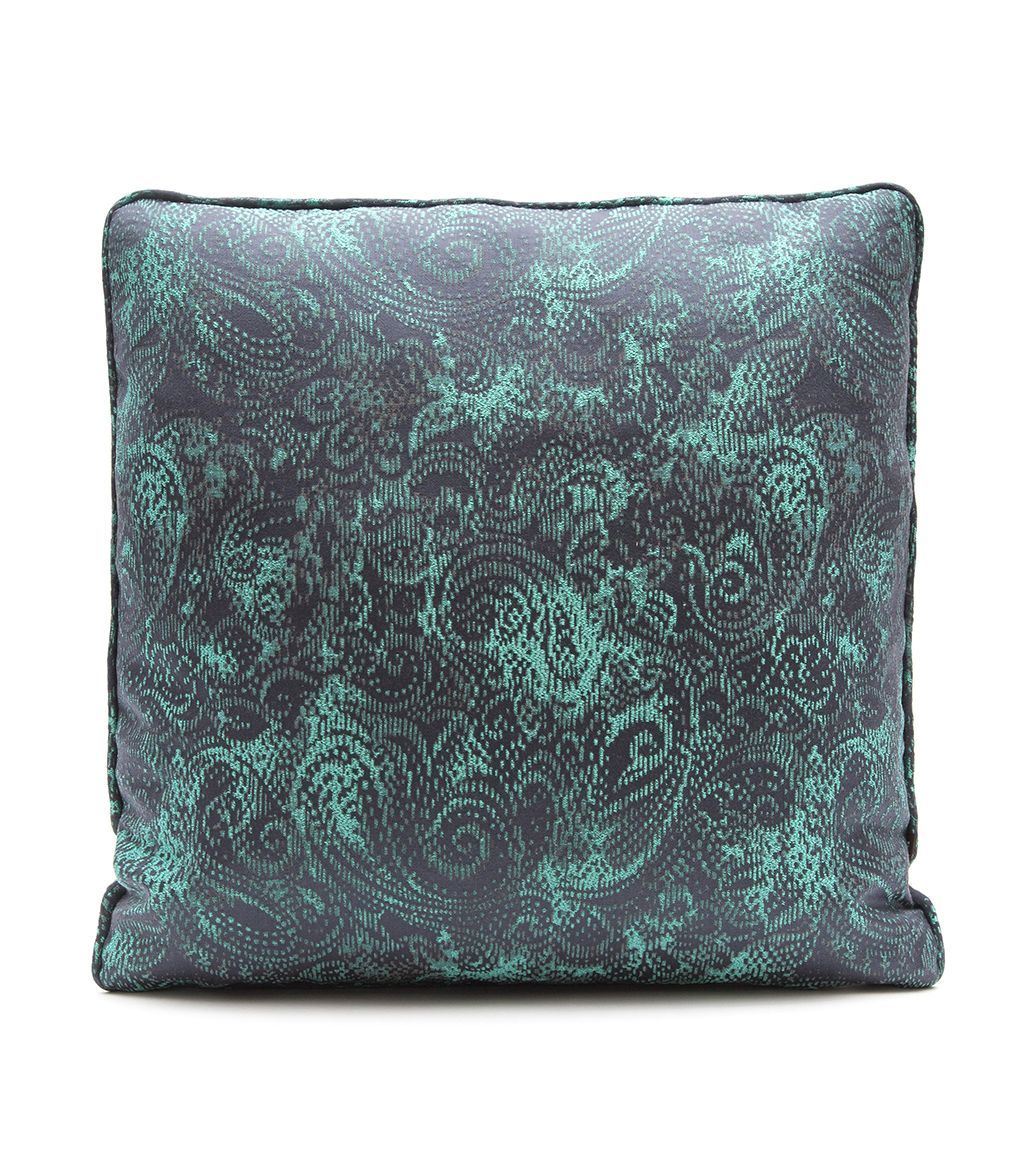 Элитная подушка декоративная Sky Rimini Turquoise от Elizabeth Douglas