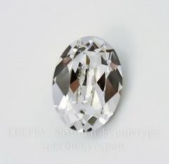 4120 Ювелирные стразы Сваровски Crystal  (14х10 мм)
