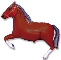 Лошадь (темно-коричневая) F 41