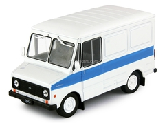 ERAZ-3730 white-blue 1:43 DeAgostini Auto Legends USSR #114
