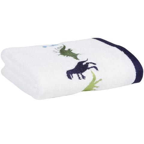 Полотенце детское 40х65 Kassatex Dino Park белое