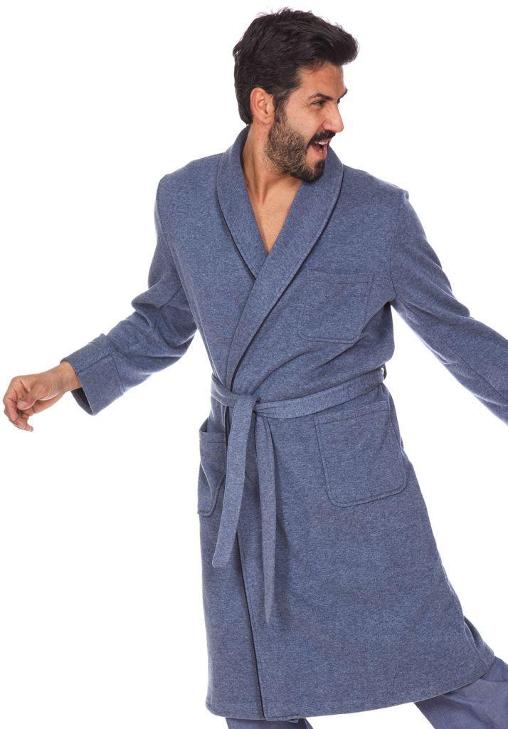 Мужской домашний халат B&B
