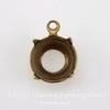 Сеттинг - основа - подвеска для страза 8 мм (41ss) (оксид латуни) ()