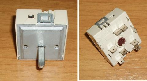 Переключатель мощности стеклокерамической конфорки EGO без расш. EGO Hi-LIGHT 50.57021.010 50.17021.000, 481281718144, COK350UN