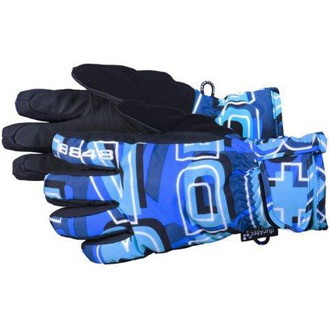 Детские горнолыжные перчатки 8848 Altitude - Dempsey Blue