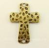 """Коннектор """"Крест"""" (1-1) 39х30 мм (цвет - античная бронза)"""