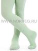 Колготки ажурные из шерсти мериноса Norveg Casual Green детские