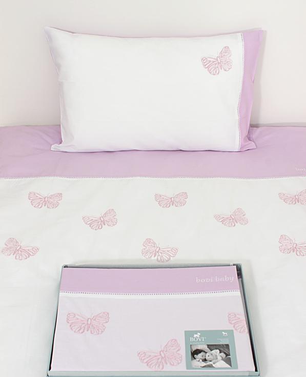 Детское постельное белье Bovi Бабочки New