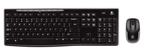 Комплект клавиатура+мышь LOGITECH MK260