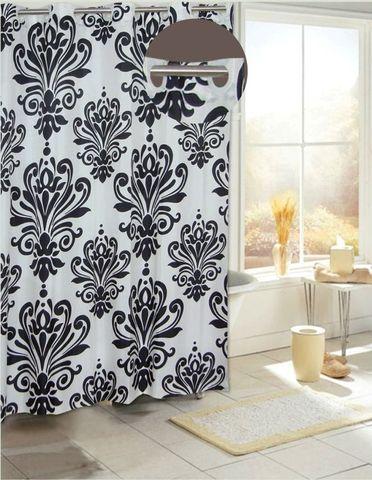Элитная шторка для ванной Beacon Hill от Carnation Home Fashions