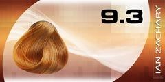9.3 Очень светлый золотистый блондин IAN ZACHARY