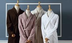 Элитный халат махровый Downtown коричневый от Casual Avenue