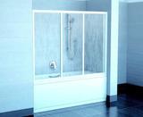 Шторка на ванну Ravak AVDP3-160 стекло