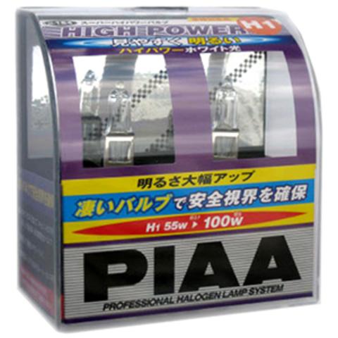 Галогенные лампы PIAA H1 H-184 (3200K) High Power