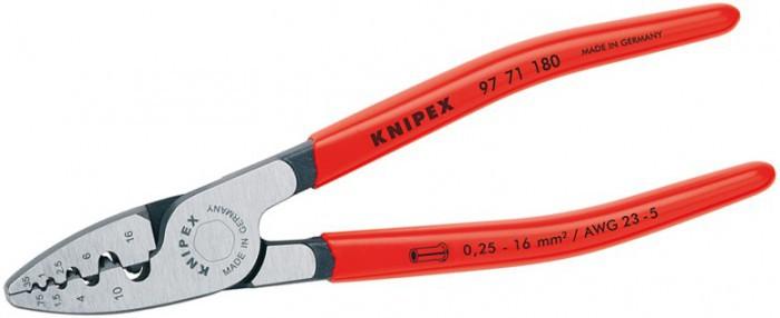Инструмент для опрессовки наконечников Knipex KN-9771180