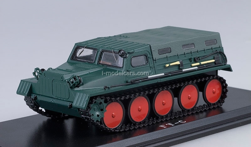 GAZ-47 GT-S 1954 Crawler Transporter with awning 1:43 Start Scale Models (SSM)