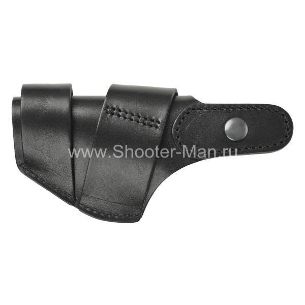 Кожаная кобура на пояс для пистолета ТТ ( модель № 9 )