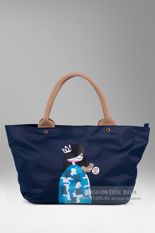 Marc by Marc Jacobs текстильная сумка Ally Miss Marc Tote