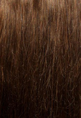 Накладка из натуральных волос Magic Strands -Оттенок 6А-лесной орех-длина 38 см