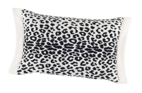 Элитная наволочка декоративная шенилловая Panthera 12 weiß от Feiler