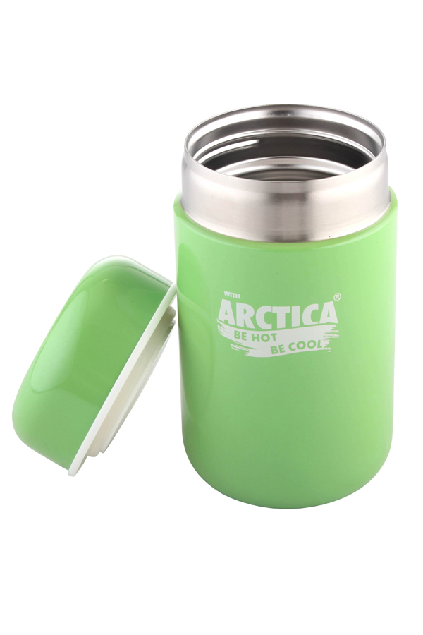 Термос для еды Арктика (0,4 л.) зеленый