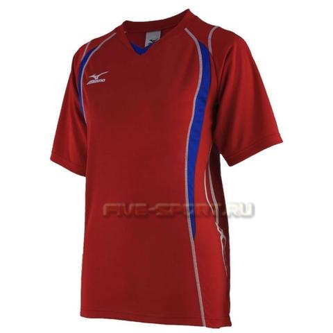 Mizuno Premium Top футболка волейбольная мужская red