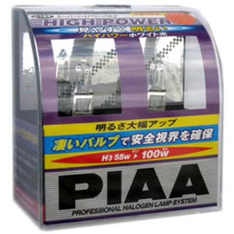 Галогенные лампы PIAA H3 H-176 (3200K) High Power