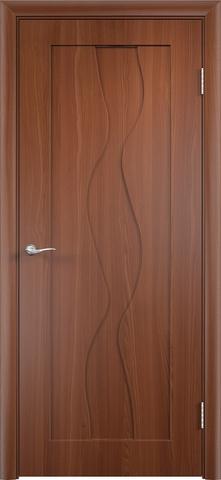 Дверь Верда Вираж, цвет итальянский орех, глухая