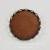 Сеттинг - основа для камеи или кабошона 18 мм (оксид меди)
