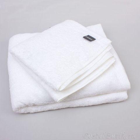 Полотенце 30x30 Cawo Life Style 7007 Uni белое