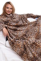 "Плед с рукавами ""Леопард"""