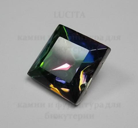 Ювелирные стразы Preciosa квадратные Vitrail Medium (10х10 мм)