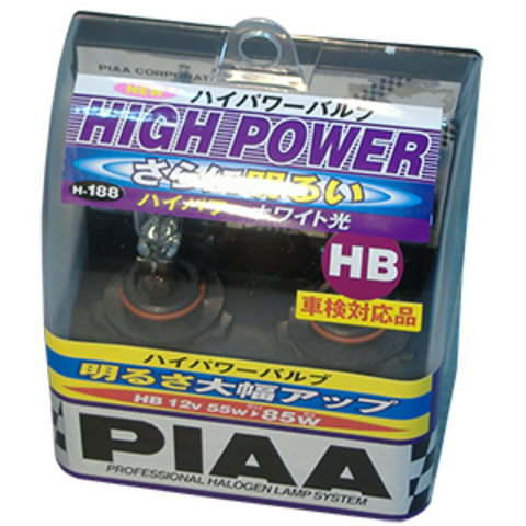 Галогенные лампы PIAA HB4 H-188 (3200K) High Power