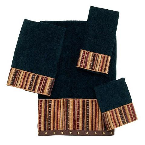 Полотенце 41х76 Avanti Odele черное