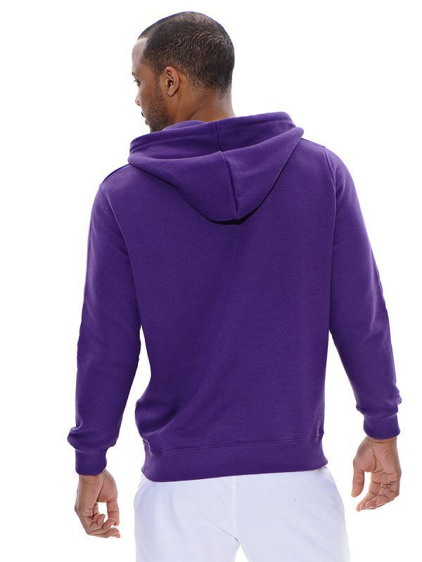 Мужская толстовка Mizuno Promo Hooded purple (P12MF01 68) фото