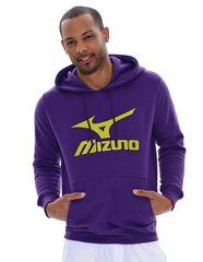 Мужская толстовка Mizuno Promo Hooded purple (P12MF01 68)