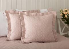 Наволочка декоративная 47х47 Luxberry English Style розовая