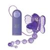 Клиторальный вибратор бабочка Waterproof Venus Penis Stimulator (7,5х2 см)